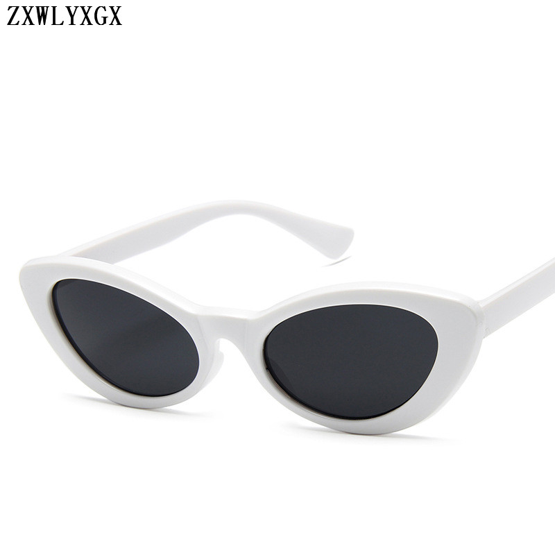 ZXWLYXGX Women Oval Sunglasses Fashion Sunglasses Men Women Vintage White Glasses Women Men Sun glasses UV400 Oculos de sol