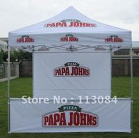 Quality 40x40x1.8mm Leg Profile 10 x 10ft Strong Aluminum Pup Up Gazebo Tent Marquee Shelter with Personalized Logo Printing