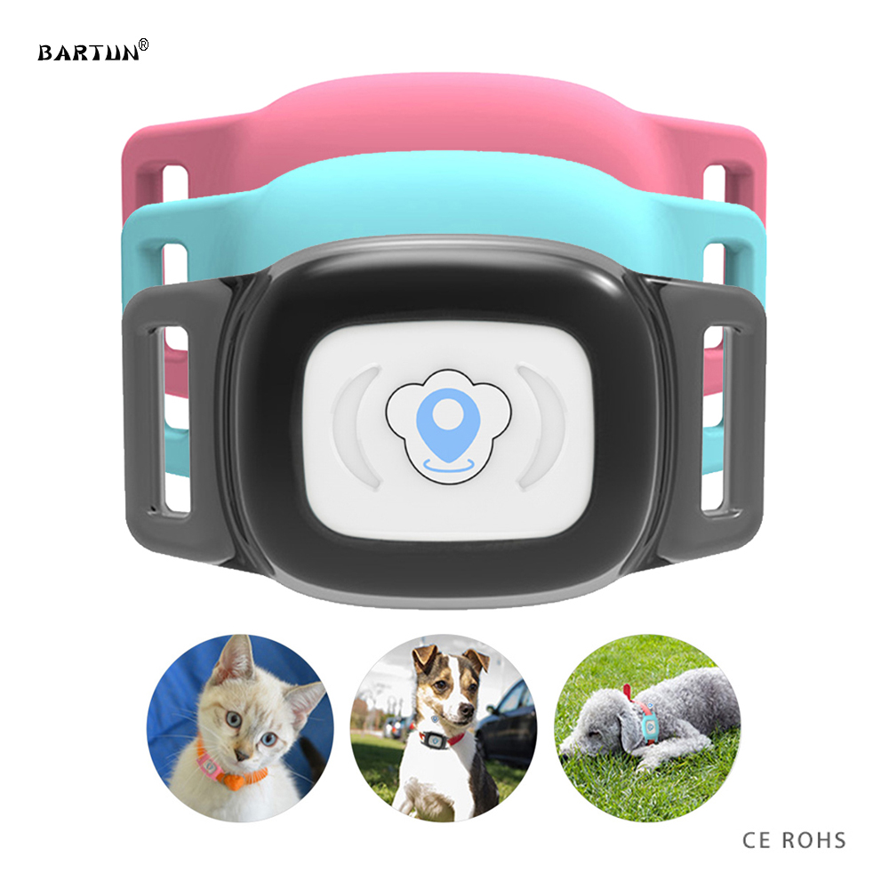 Smart Waterproof IP67 MiNi Pet GPS AGPS LBS Tracking Tracker Collar For Dog Cat AGPS LBS SMS Positioning Geo-Fence Track Device(China)