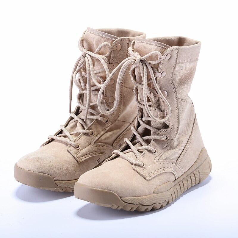 2017 New Army Boots Men Tactical Military Super light summer combat boots men and women tactical boots summer boots 07 combat