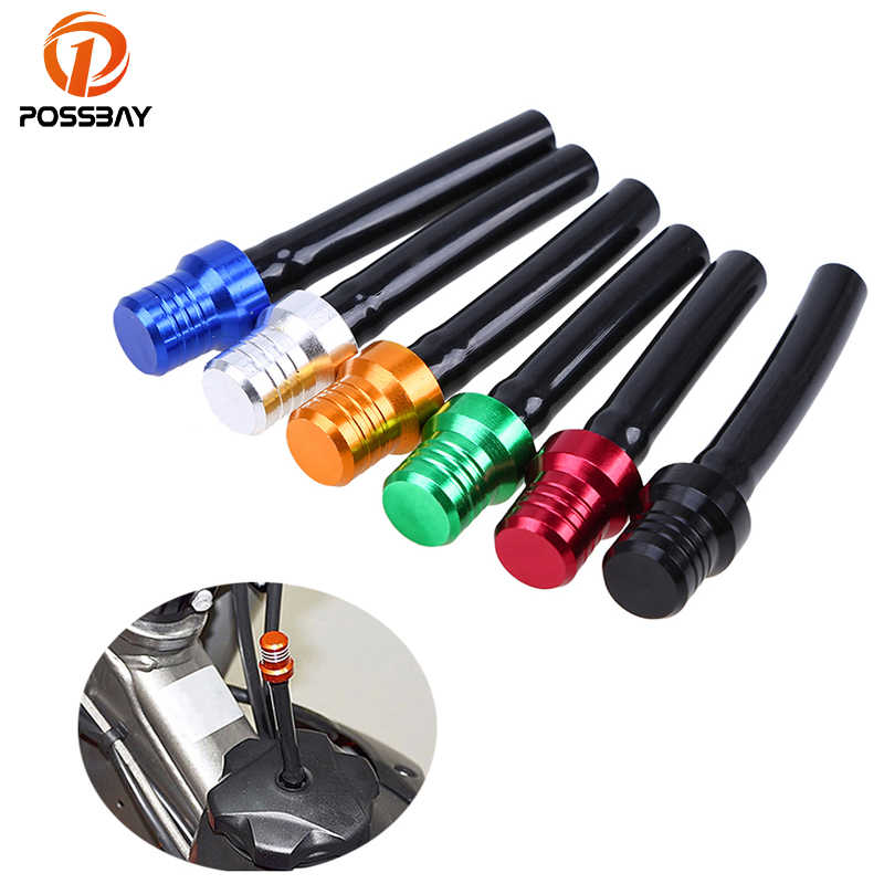 POSSBAY 1Pcs Universal Motorcycle Dirt Bike Tank Gas Fuel Cap Valve Vent Breather Hose Tube For Motorcycle Dirt Pit Quad Bike