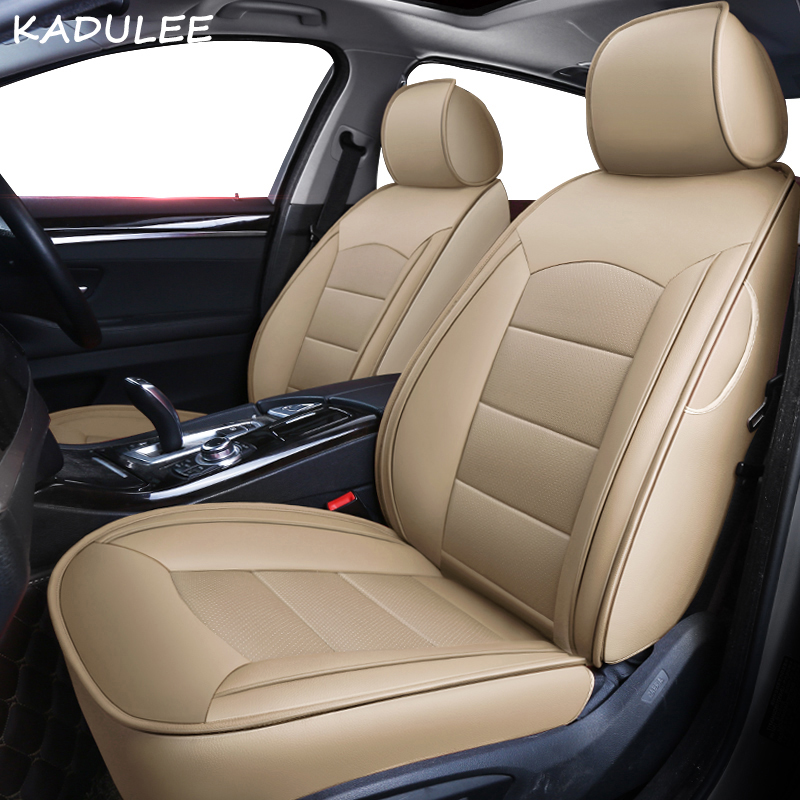 KADULEE custom real leather car seat cover for mercedes benz gl c180 c200 e300 w211 w203