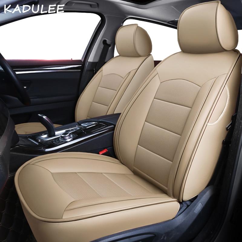 KADULEE personnalisé en cuir véritable housse de siège de voiture pour mercedes benz gl c180 c200 e300 w211 w203 w204 ML coussin de voiture sièges de voiture style