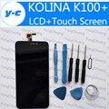 Kolina K100 + LCD Display + Pantalla Táctil Original Digitalizador Panel de Vidrio Para KOLINA K100 + 1920X1080 FHD 5.5 pulgadas Del Teléfono Celular-En Stock