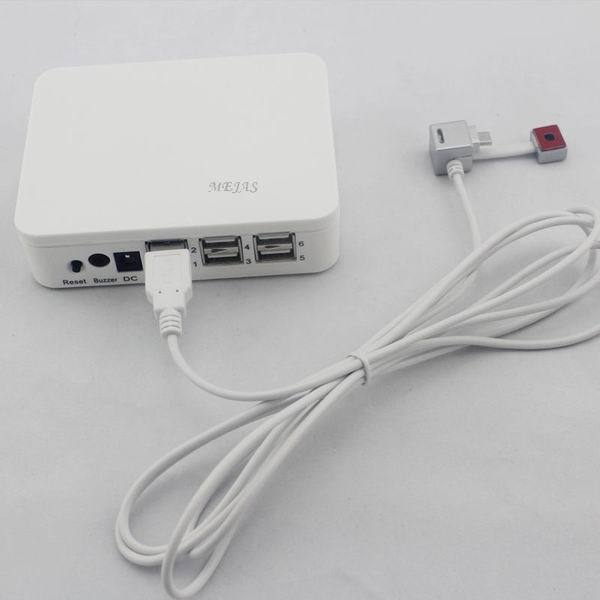 Security Systems Lincoln Ne: Changjian White 6 Ports Burglar Alarm Charging Display