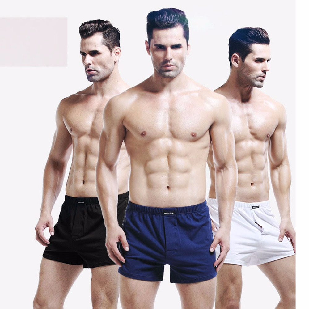 wholesale Personality Men's Cotton loose Underwear Sexy Breathable Boxer comfortable Refreshing