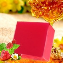 Stawberry-Soap Removed Skin-Care Acne Whitening Clear Face Natural Body-Dark-Spot