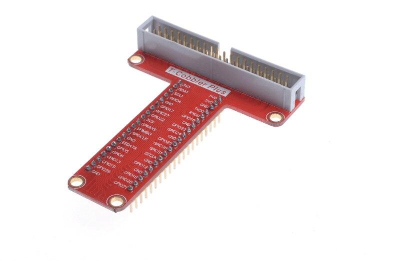 5PCSRaspberry Pi 3 T Cobbler Plus Breakout GPIO adapter plate for Raspberry Pi B Raspberry Pi