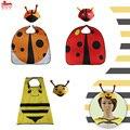 L27 * Boys & Girls chapéu joaninha abelha animal cabo & especial para o concerto da escola dos miúdos trajes de aniversário presente de Natal festa em casa