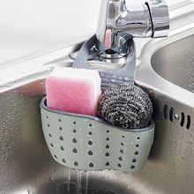 Портативная подвесная кухонная раковина, закрытый сеткой слив, корзина, сумка для ванной, инструменты для хранения, регулируемый держатель для кухонной раковины, для дома