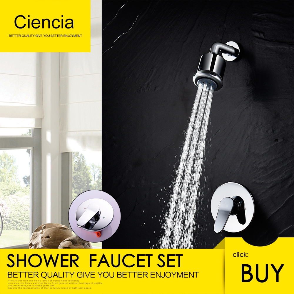 High end Euro Style Shower Faucet for Bathtub Deck Mounted Three ...