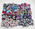 Nova Floral Turban Headband Headwrap para cabelo acessórios de alta de inverno infantil Headbands 10 pçs/lote