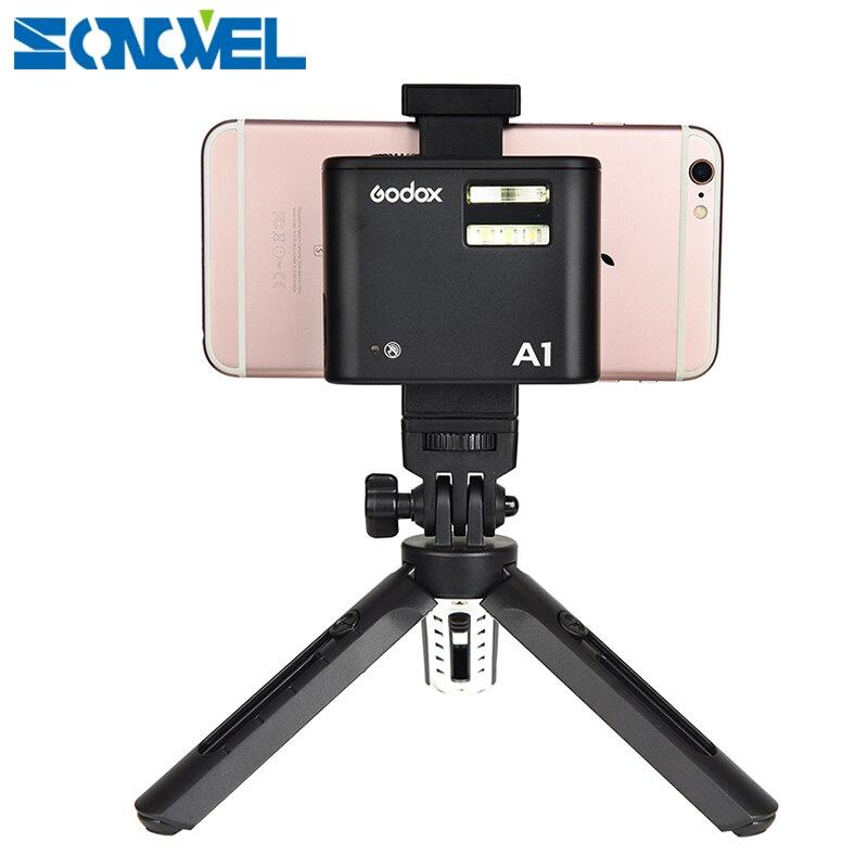 Sistema sem Fio Flash de Luz Interna para Ios Godox Bluetooth Gatilho Led Bateria Smartphone Iphone 6 s 7 8 Plus a1 2.4g Ttl
