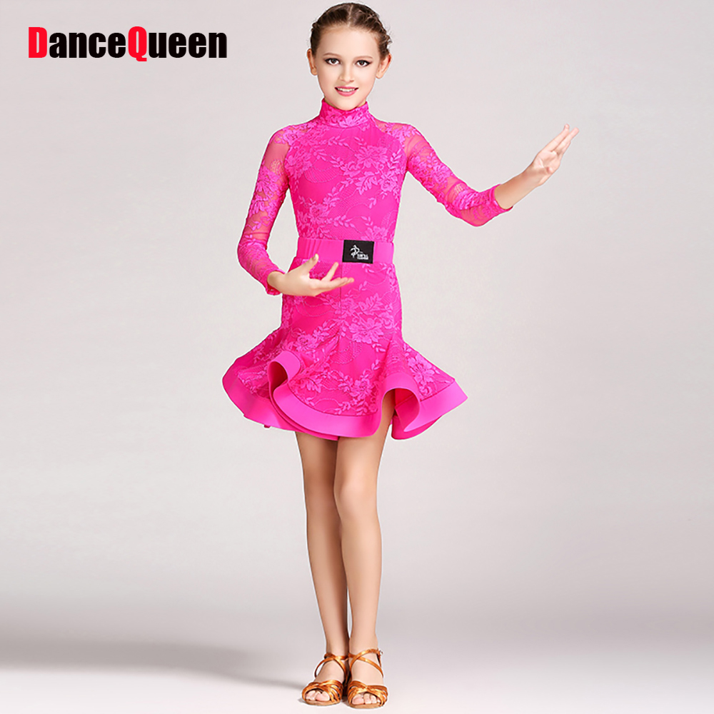 f0740b6a7 2018 Girls Belly Dance Professional 6Colors Kids Dance Clothing ...