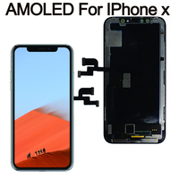 Grade For iPhone X oled LCD Display For IPhone XS AMOLED oled OEM Touch Screen With Digitizer Replacement Assembly Parts Black