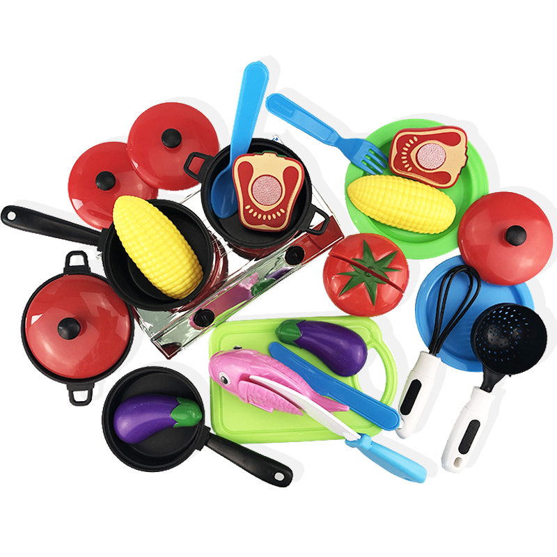 c8ad01b8ec98 30Pcs DIY Cute Cutting Fruit Vegetable Pretend Play Toy Set Kitchen Food  Cook Cosplay Girls Children Kid Educational Toy Gift -in Kitchen Toys from  Toys ...