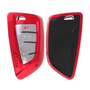 Image 1 - Soft TPU Remote Smart Key Cover Case Shell For BMW X1 X5 X6 530i 535i 540i 550i 740e 740i 750i 750Li GT xDrive 2014 2015 2016