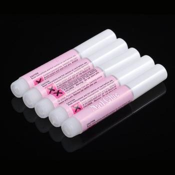 Factory Wholesale Sale 5000pcs Acrylic Nail Art Beauty Glue False nail Glue Manicure Fake nail adhesive glue bonder 2g nail glue
