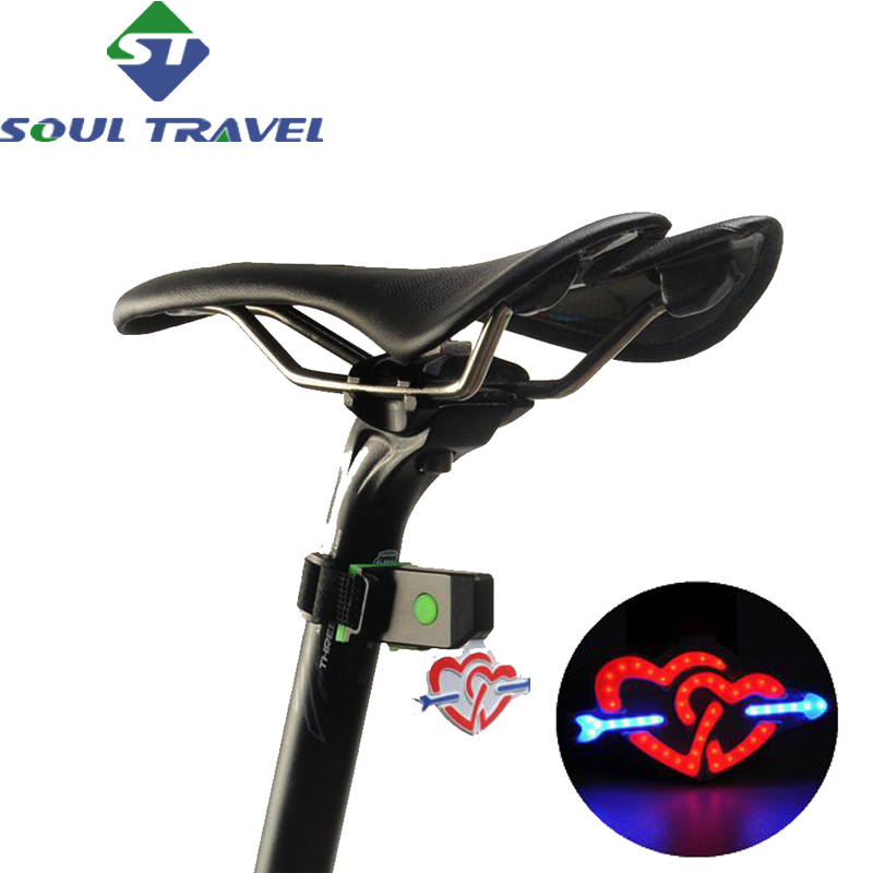 Soul Travel Led Rear Seatpost Bike Light Accessories Usb Battery Charging Waterproof Lamp Bicycle Comet Lights Luz Bicicleta Hot