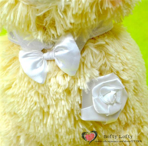 Bridal Alpacasso Small Size - Pink and yellow 3