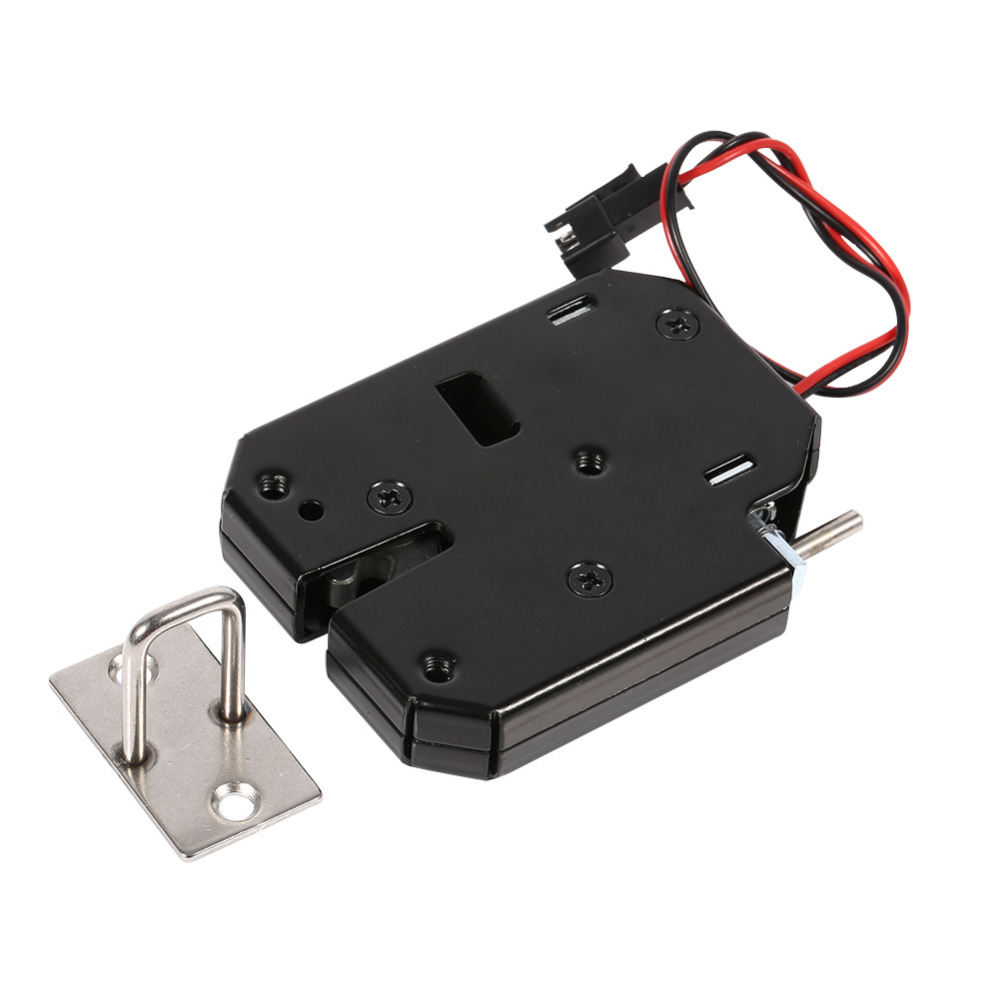Electric control lock dc 12v 2a electromagnetic door lock for 12v door latch