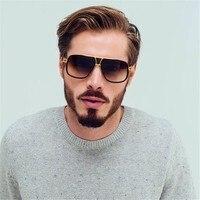 Classic Square Sunglasses Men Oversized Retro Sun Glasses For Women Retro Glasses Or Lunettes De Soleil