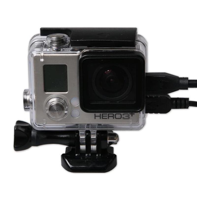 Carcasa protectora lateral abierta de esqueleto para GoPro Hero 4 3 + - Cámara y foto - foto 2