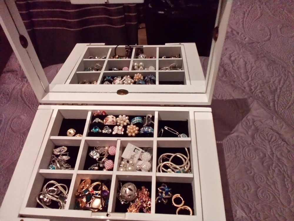الفاخرة موضة خشبية الأميرة ضخمة سوبر مجوهرات اكسسوارات التخزين المنظم صندوق علبة النعش الزفاف الأم هدية عيد ميلاد