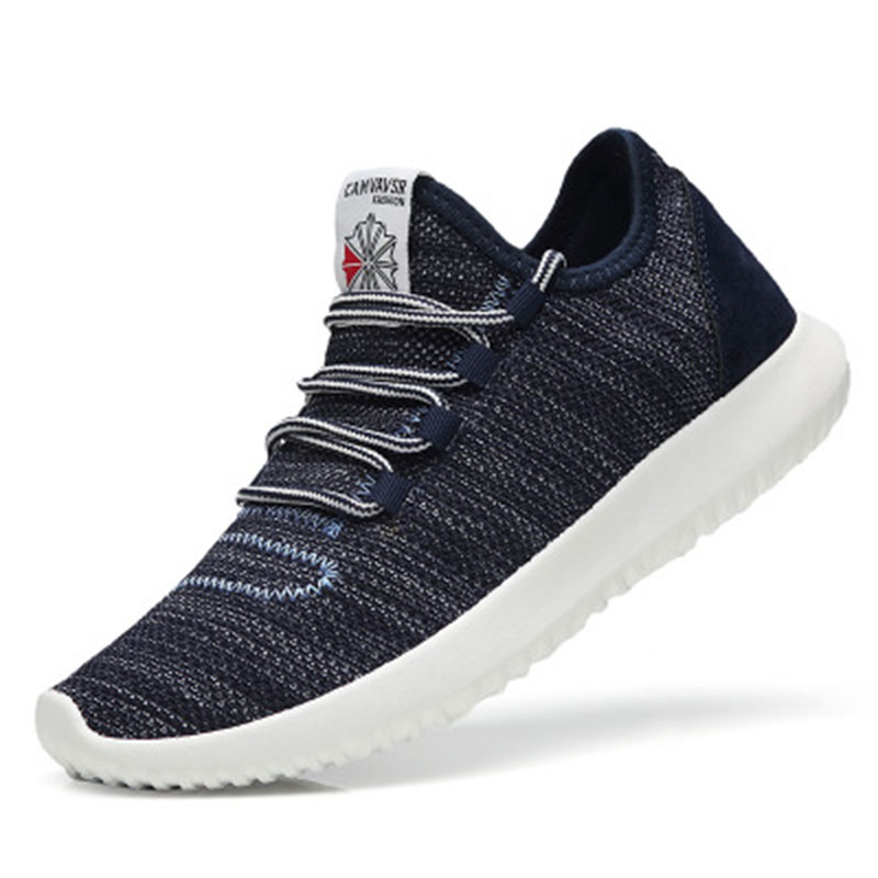 Grande Maille Chaussures Taille Confortable Respirant Hombre 2018 blue Beige Zapatos gray Casual Marche Homme YwqBAfY