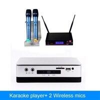Главная KTV HDD караоке плеер с 2 ТБ жестких дисков включают 42 К песни плюс беспроводной микрофон