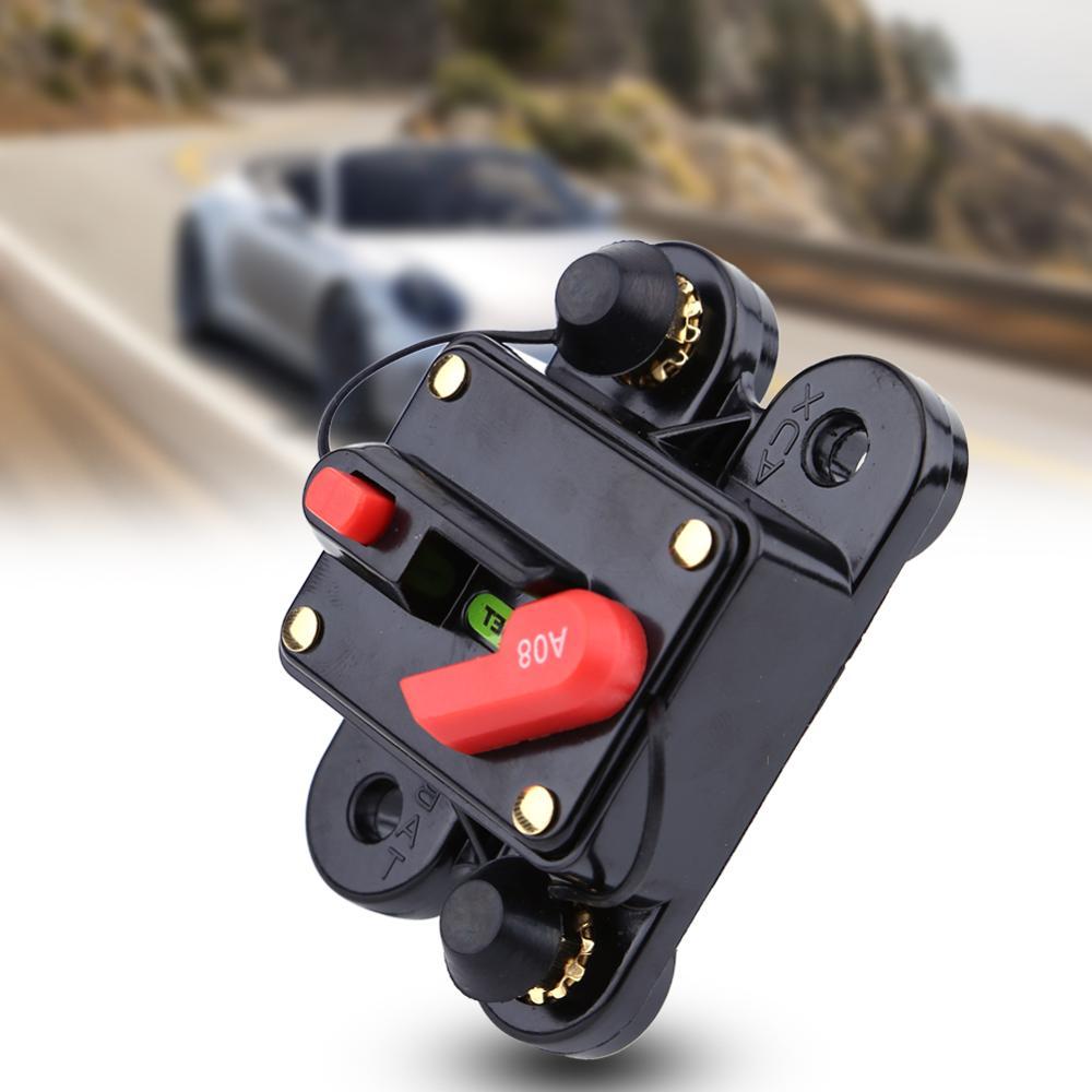 Автоматический выключатель, сброс предохранителя, 12 в пост. Тока, автоматический выключатель, реле напряжения, защита напряжения для автомобиля (80-300A)