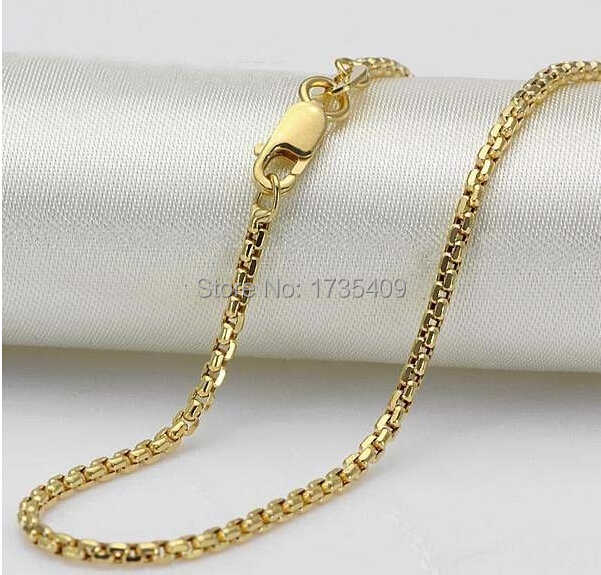 "AU750 Yellow Gold Necklace/Hoàn Hảo Chain 3.9 gam/17.7 ""L"
