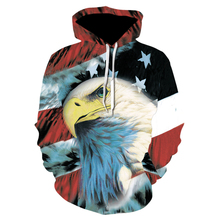 Devin Du 3D Print Hoodies Sweatshirts Men Fashion American Flag Hooded Sweats Tops Hip Hop Unisex Graphic Pullover drop ship