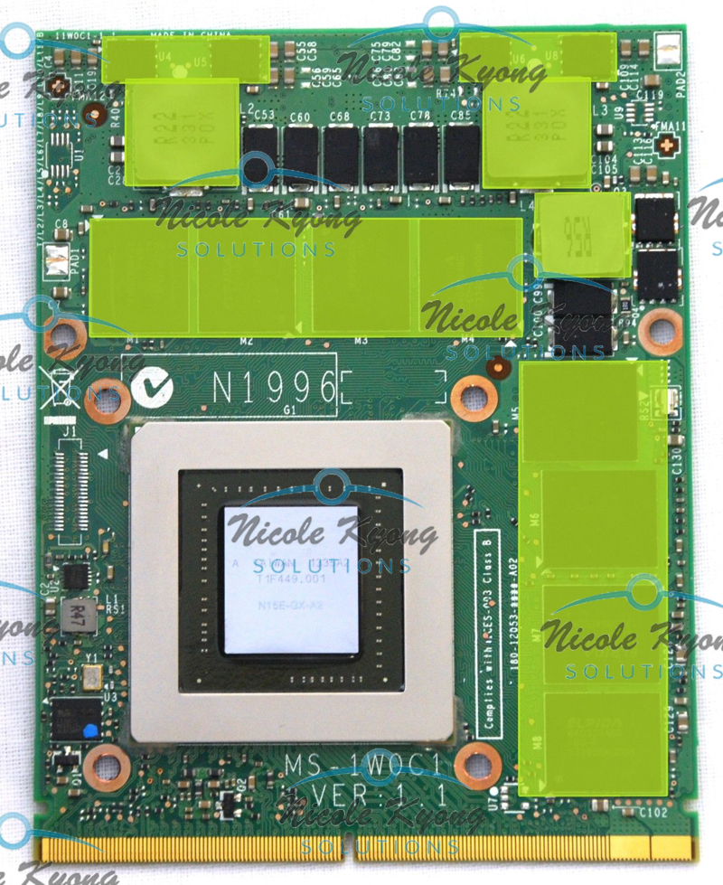 GTX880M GTX 880M 8GB GDDR5 Video VGA CARD For MSI 16F3 16F4 1763 GT60 GT70 GT72 no SLI for msi 16f3 16f4 1762 1763 gt70 gt60 ge72 series gtx 970m gtx970m ms 1w0j1 ver 1 0 3g ddr5 192bit vga video card n16e gt a1