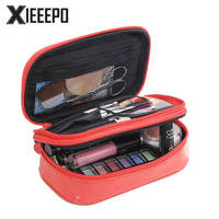 Women Luxury Travel Cosmetic Bag Professional Makeup Bag Organizer Case Beauty Necessary Make Up Storage