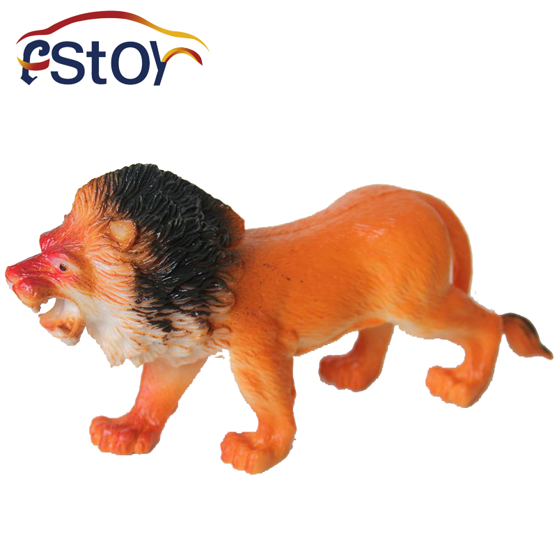 Toy Figures For Boys : Lions toys action figures model wild animal pvc early
