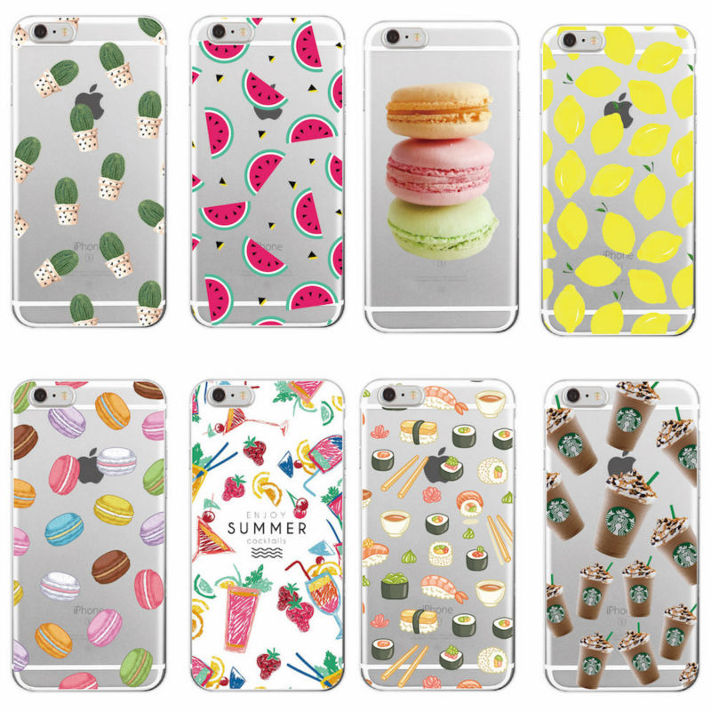 font b Food b font Fruit Starbuck s Pineapple Lemon Banana Cactus Strawberry Sushi Phone