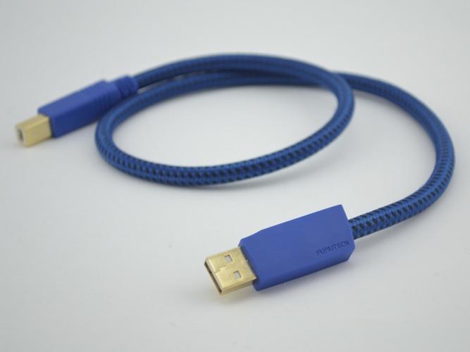 Hi-End GT2 высокопроизводительный аудио USB-B(A-B) usb кабель 0,6 м HIFI USB аудио кабель