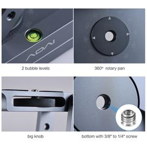Image 3 - Andoer z shaped Flex Tilt głowica statywu 360 stopni płyta szybkiego uwalniania stojak do montażu na stojaku Canon Nikon Sony Pentax lustrzanka cyfrowa