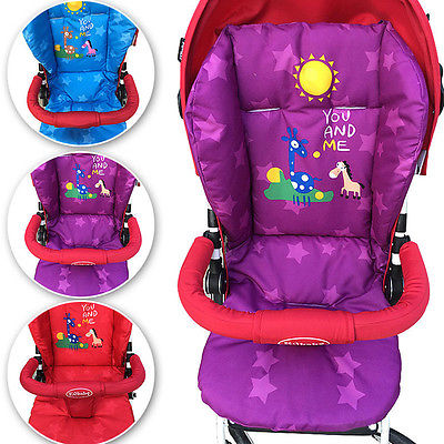 Newboen Baby Infant Stroller Cushion Mat Giraffe Car Seat Pad Cotton Warm Thick Cart Cover Mats