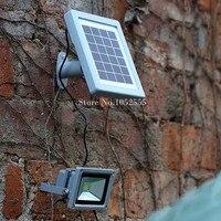 New Solar Powered Lamp Integrated Light Source Lamp Floodlight Outdoor Landscape Garden Garage Spot Wall Emergency