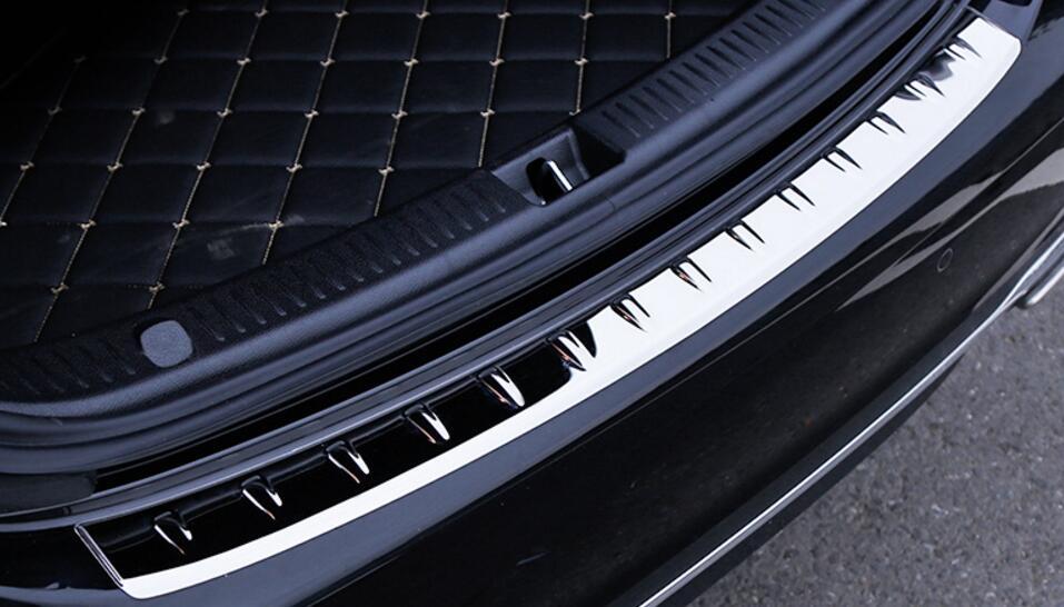 Rear Bumper Outer Trunk Sill Trim For Mercedes Benz W213 E200 E300 E Class 2017