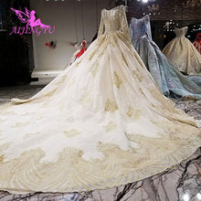 AIJINGYU Summer Wedding Dress The Gowns Robe London Antique Weddingdress Lace Gown Expensive Wedding Dresses