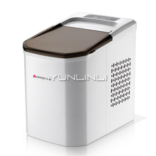 Mini Ice Maker Household/Commercial Small Size Ice Machine 220V Full-automatic Ice Cube Machine ZG-Z6