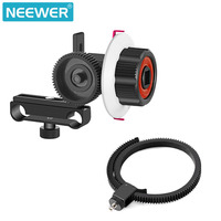 Neewer Follow Focus With Gear Ring Belt For Canon And Other DSLR Camera Camcorder DV Video