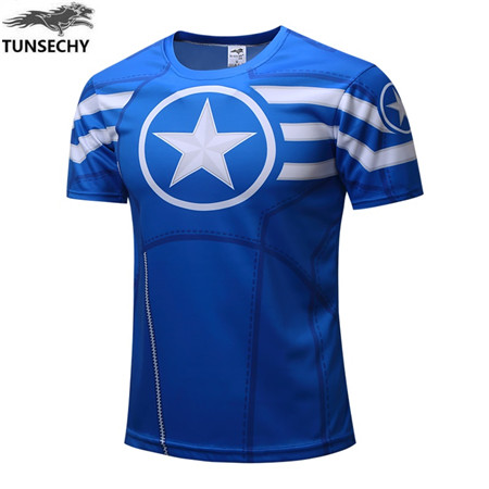 superheroes style t shirts captain america