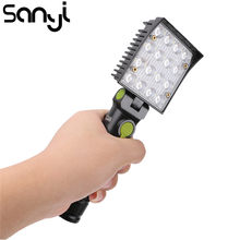SANYI 16 LED Flashlight Working Inspection Torch Lamp 4-modes Repairing Warning Camping hanging Light With Magnet and Hook(China)