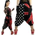 New fashion union Jack Polka dot Harem Hip Hop Dance Pants loose casual Sweatpants Costumes stage performance wear jazz trousers