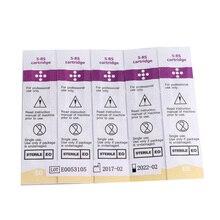 Eldobható Sterilizált Tattoo Állandó Smink Pen Machine Needles 10PCS RS Tű Tippek a szemöldök ajak Microblading kellékek