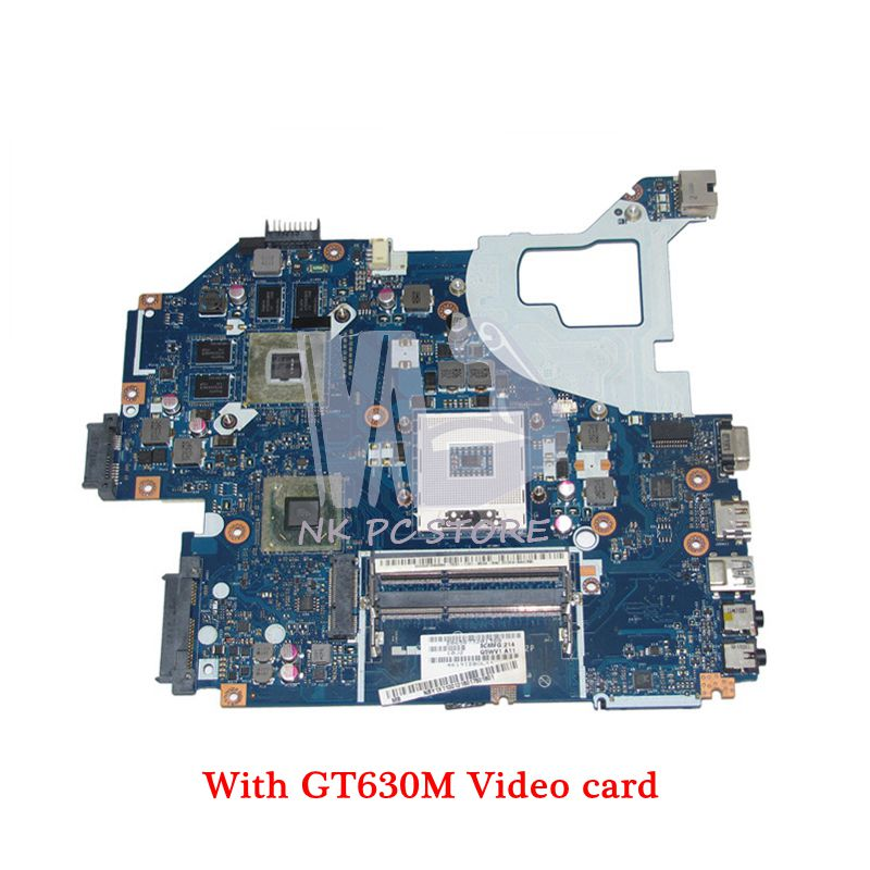 цена на NOKOTION NBY1X11001 Q5WVH LA-7912P MAIN BOARD For Acer aspire E1-571G V3-571G Laptop Motherboard HM77 DDR3 GT630M Video card